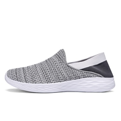 Ericdress Mesh Round Toe Slip-On Mens Casual Sneakers