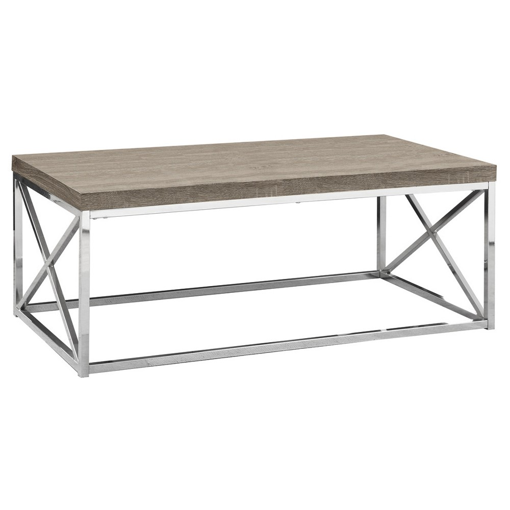 Metal Coffee Table Dark Taupe - EveryRoom from EveryRoom