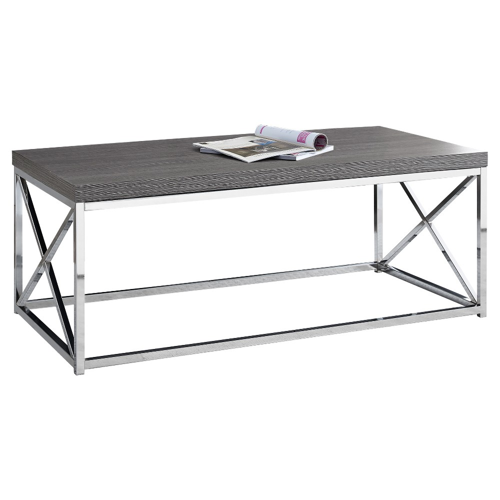Metal Coffee Table Gray - EveryRoom from EveryRoom