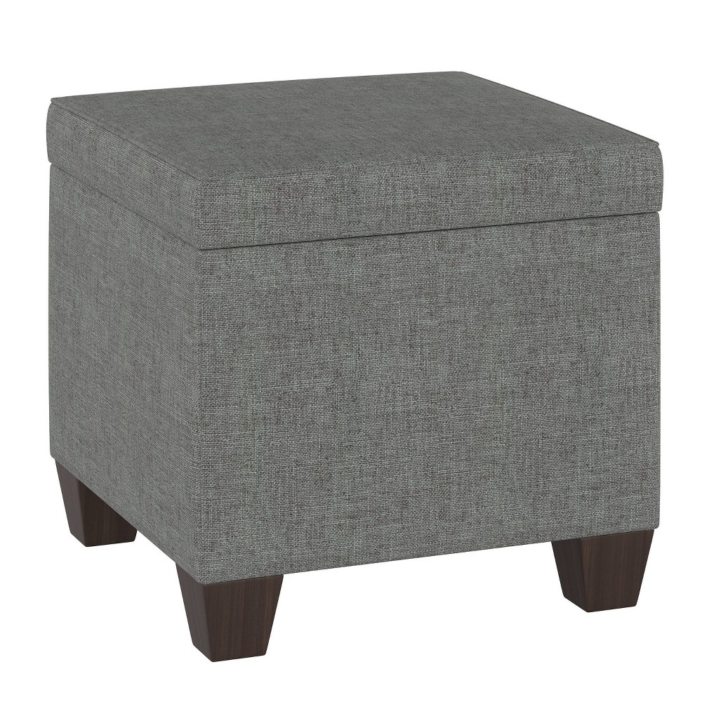Fairland Storage Ottoman Zuma Charcoal - Threshold from Threshold