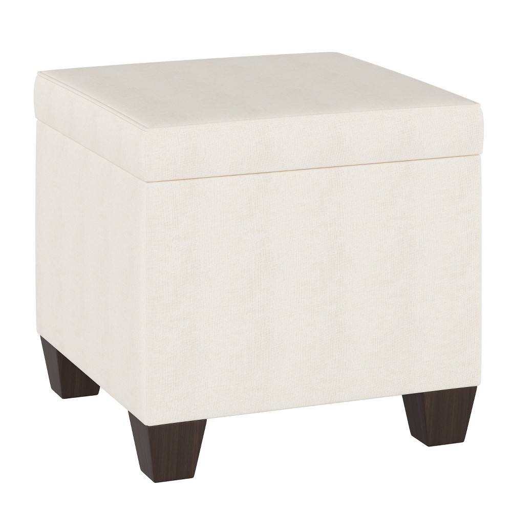 Fairland Storage Ottoman Zuma White - Threshold from Threshold