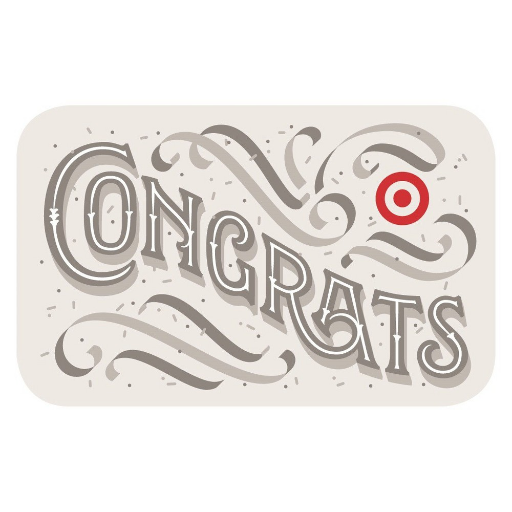 Fancy Congrats GiftCard $75 from Target