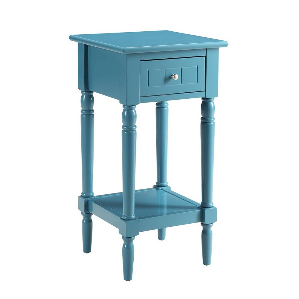 French Country Khloe Accent Table Blue - Breighton Home from Breighton Home