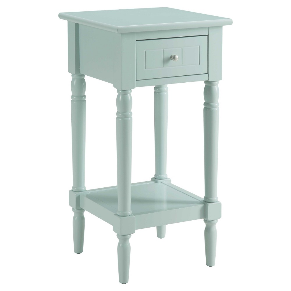 French Country Khloe Accent Table Sea Foam - Breighton Home from Breighton Home