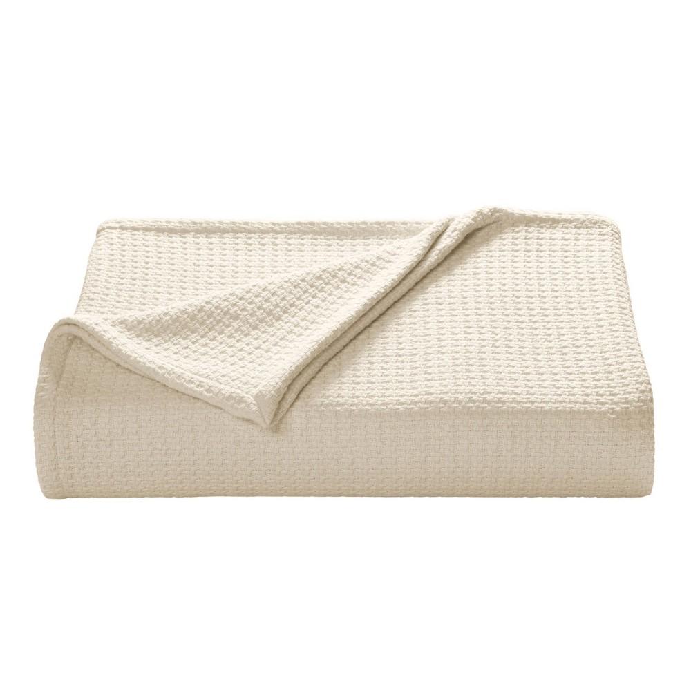 Full/Queen Bahama Coast Bed Blanket Natural - Tommy Bahama from Tommy Bahama