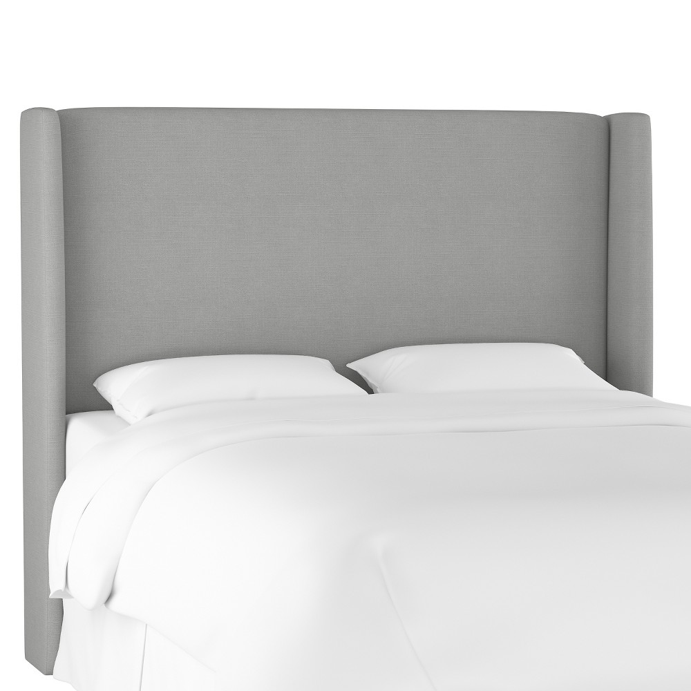 Full Antwerp Wingback Headboard Gray Linen - Project 62 from Project 62