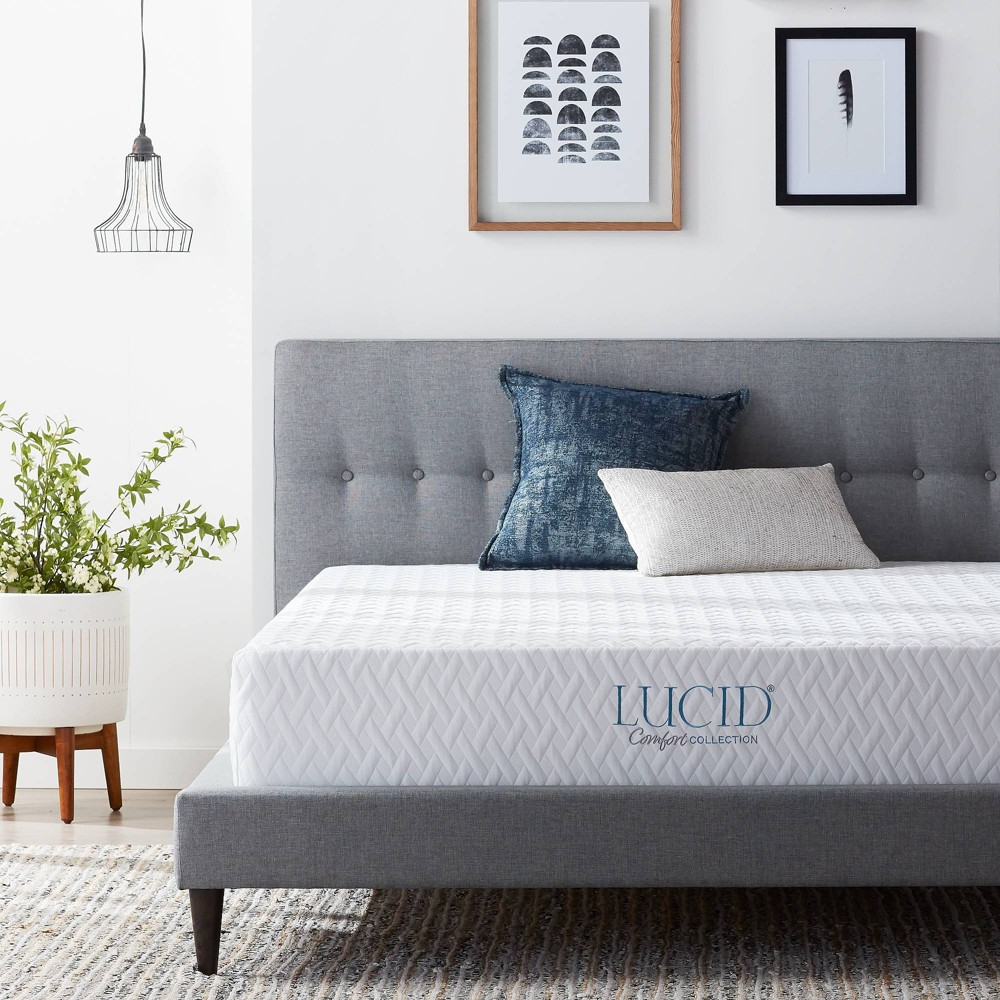 "Full Comfort Collection 10"" Gel Memory Foam Mattress - Lucid from Lucid"