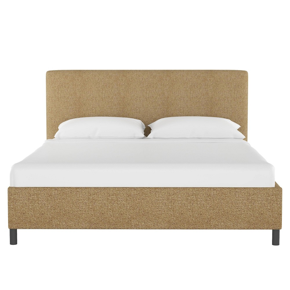 Full Upholstered Platform Bed in Aiden Almond Brown - Project 62 from Project 62