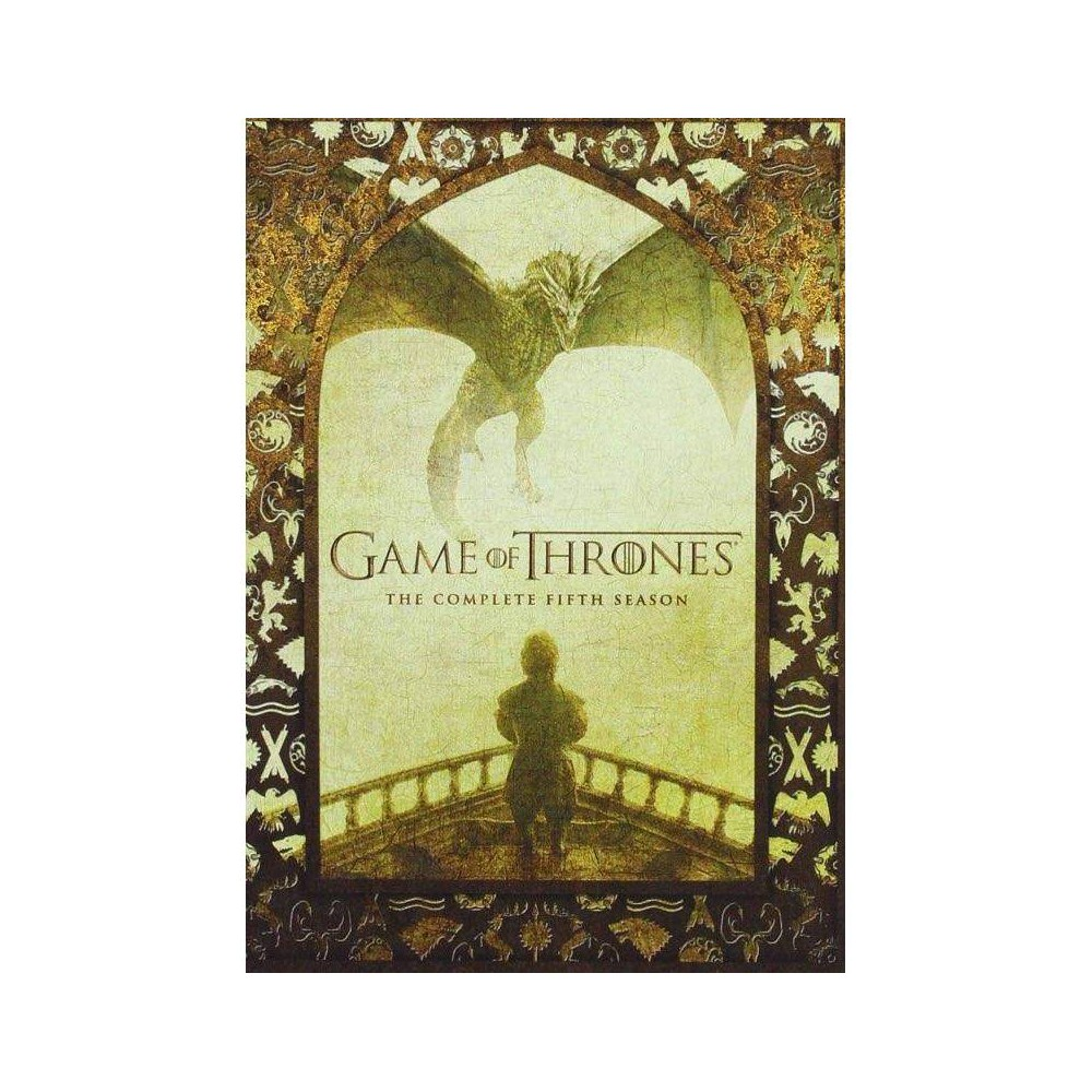 Game of Thrones: The Complete Fifth Season (DVD) from Warner