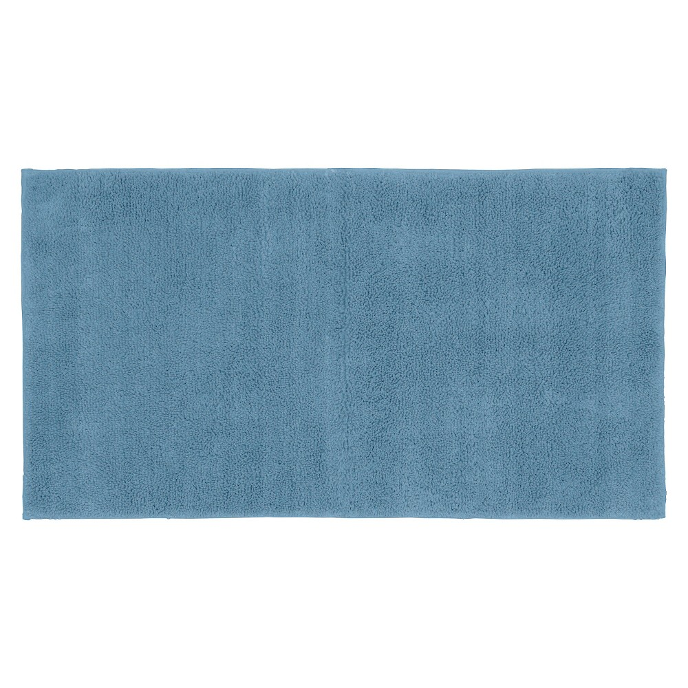 "24""x40"" Queen Cotton Washable Bath Rug Sky Blue - Garland from Garland Rug"
