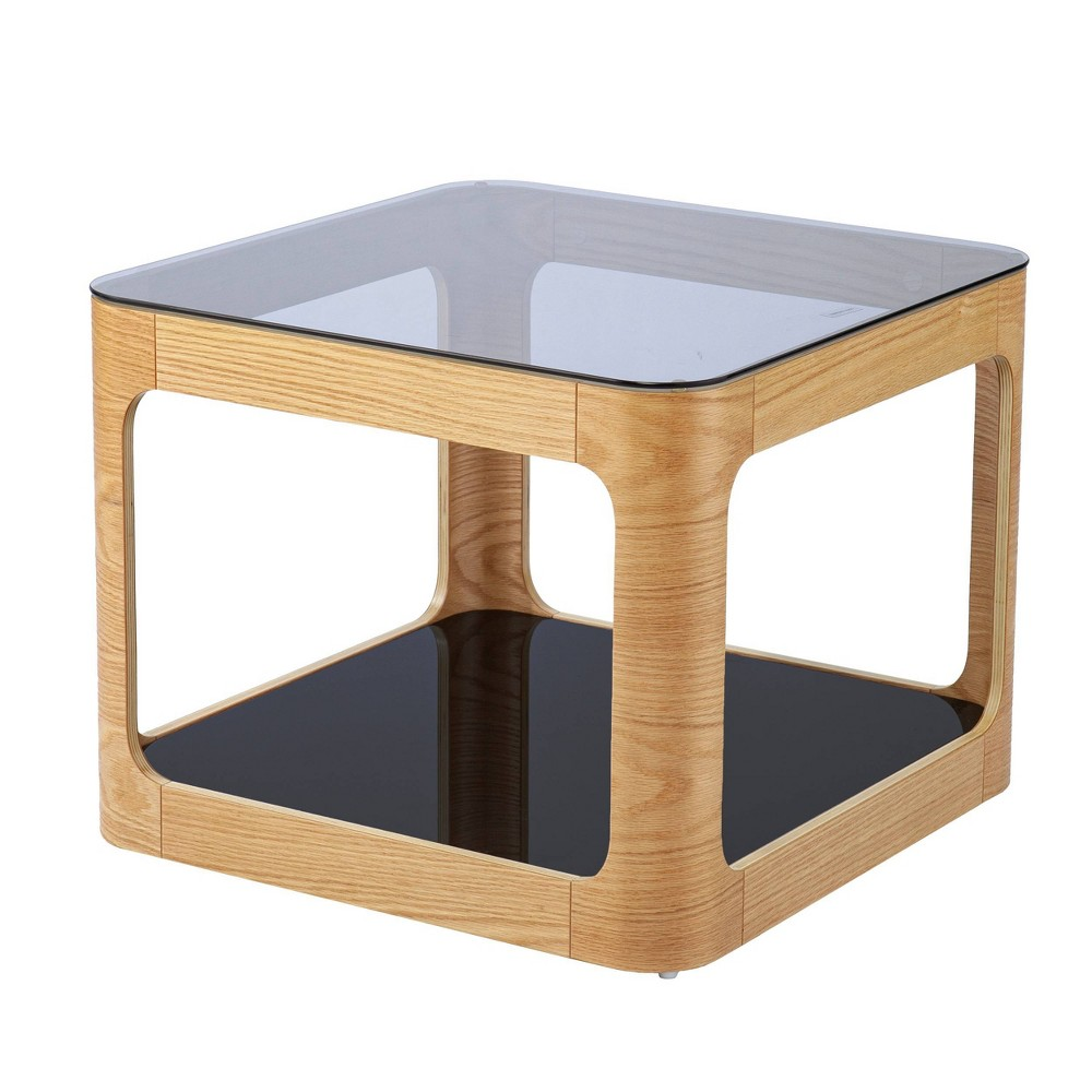 Gebsdon Two-Tier End Table Natural - Aiden Lane from Aiden Lane