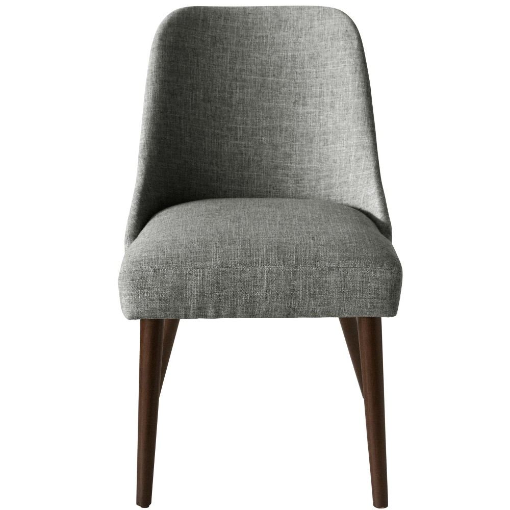 Geller Modern Dining Chair Charcoal Linen - Project 62 from Project 62