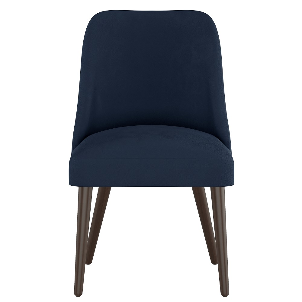 Geller Modern Dining Chair Navy Velvet - Project 62 from Project 62