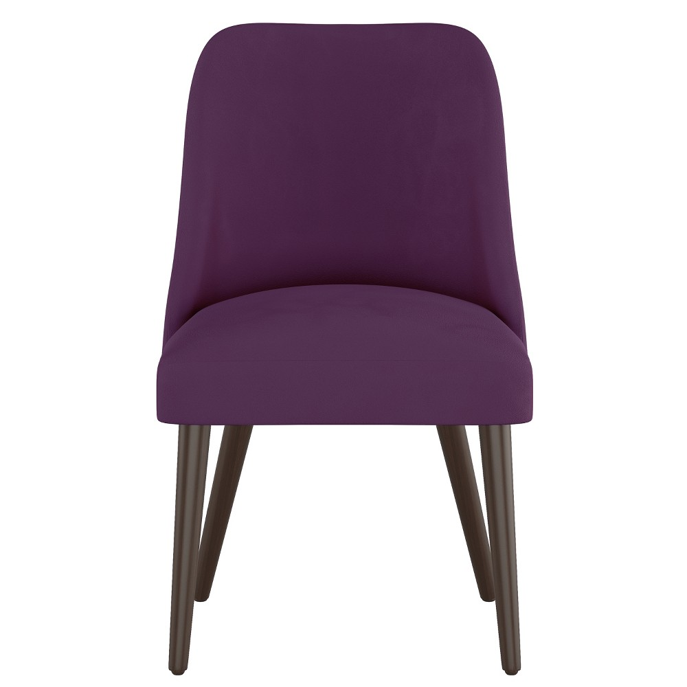 Geller Modern Dining Chair Purple Velvet - Project 62 from Project 62
