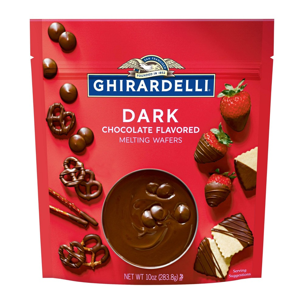 Ghirardelli Dark Chocolate Melting Wafers - 10oz from Ghirardelli