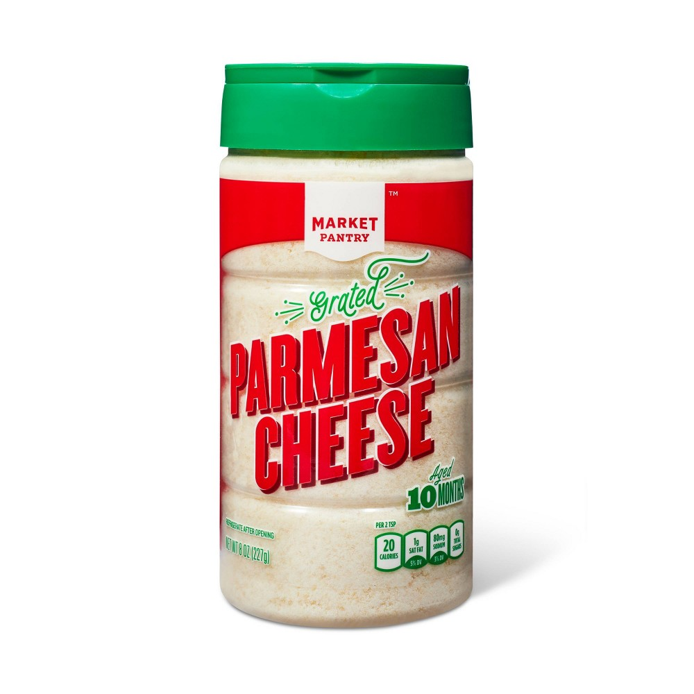 Grated Parmesan Cheese - 8oz - Market Pantry from Market Pantry