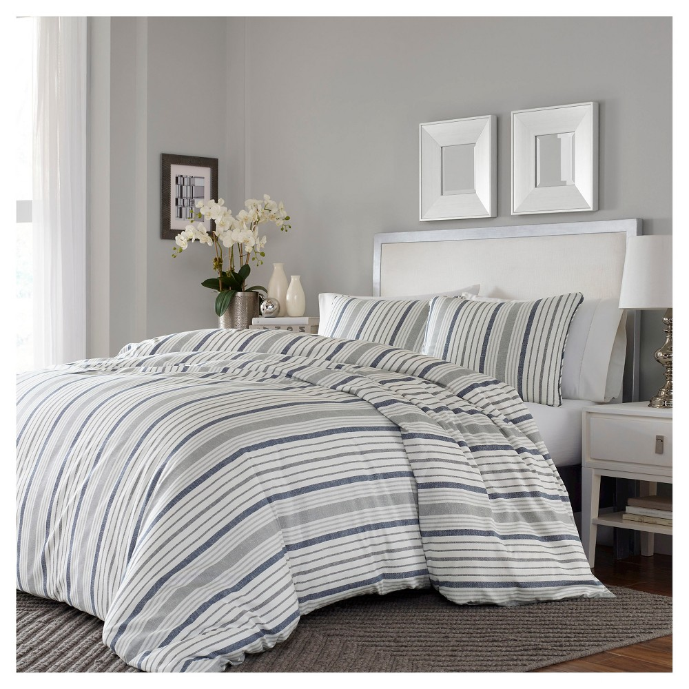 Gray Conrad Comforter Set (King) - Stone Cottage