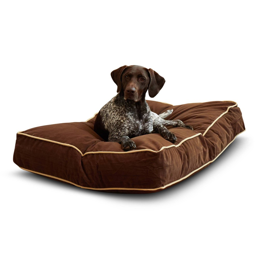 Kensington Garden Buster Dog Bed - Cocoa - M from Kensington Garden