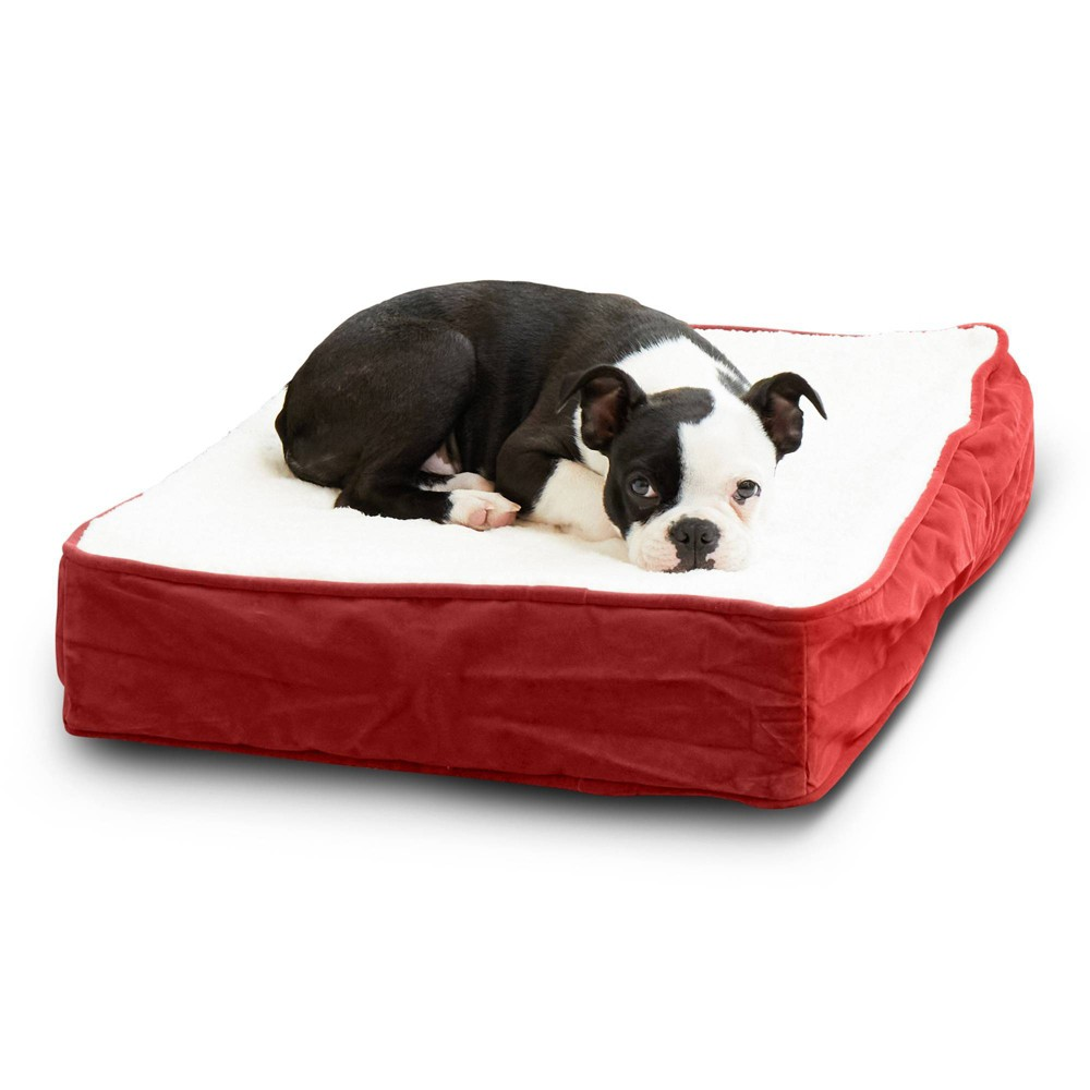 Kensington Garden Oscar Orthopedic Dog Bed - Crimson - Extra Small from Kensington Garden
