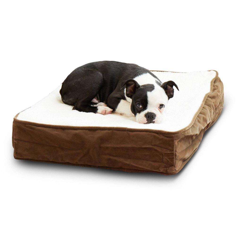 Kensington Garden Oscar Orthopedic Dog Bed - Latte/Birch - Extra Small from Kensington Garden