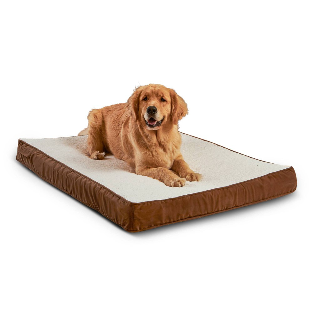 Kensington Garden Oscar Orthopedic Dog Bed - Latte/Birch - L from Kensington Garden