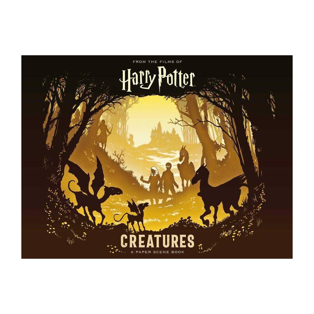 Harry Potter Creatures : A Paper Scene Book - by Various (Hardcover) from Simon & Schuster