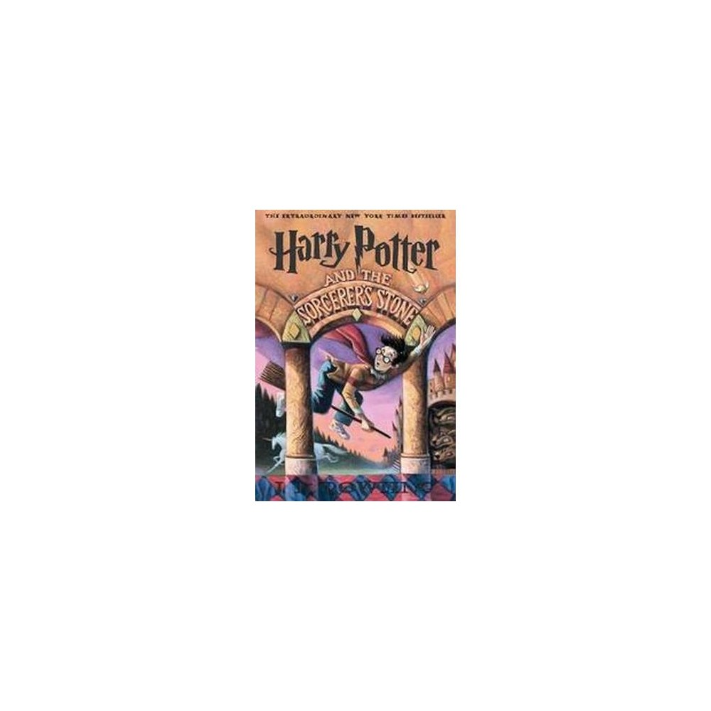 Harry Potter and the Sorcerer's Stone by J. K. Rowling (Paperback) from Scholastic