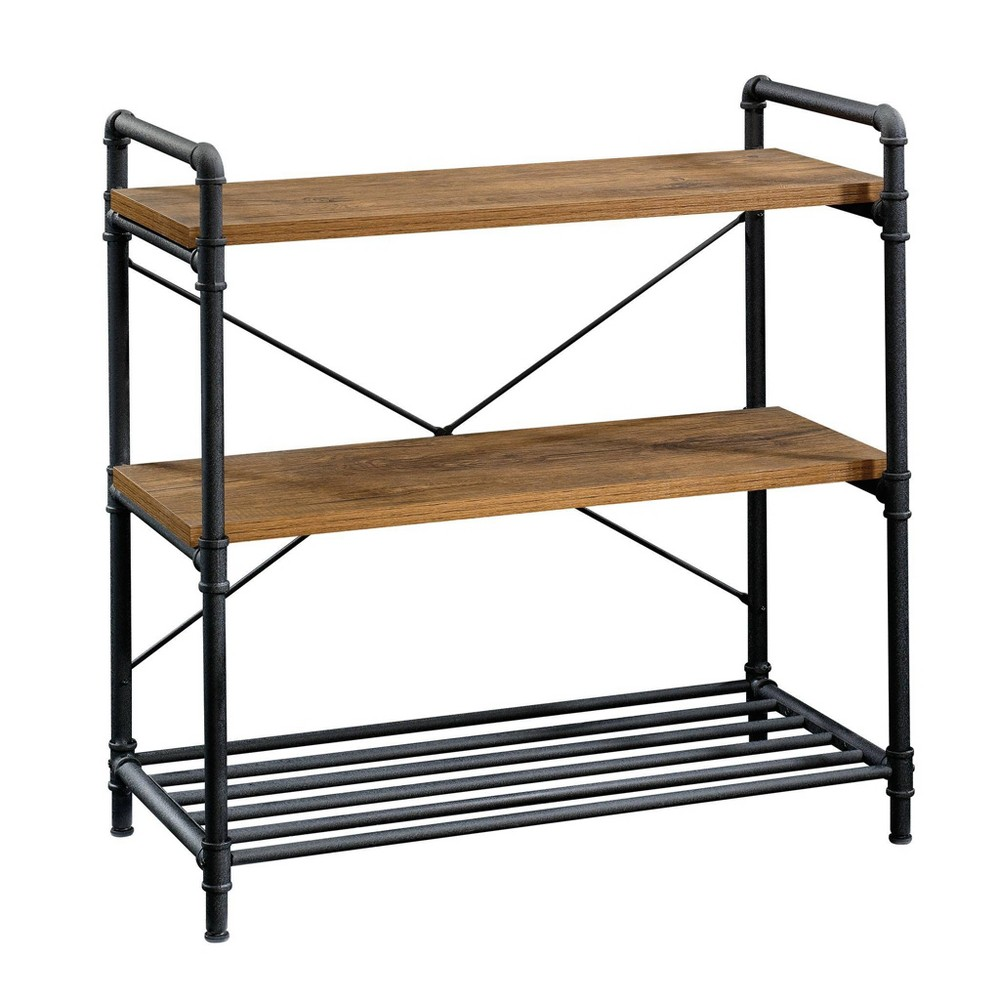 Iron City Anywhere Console Checked Oak - Sauder from Sauder