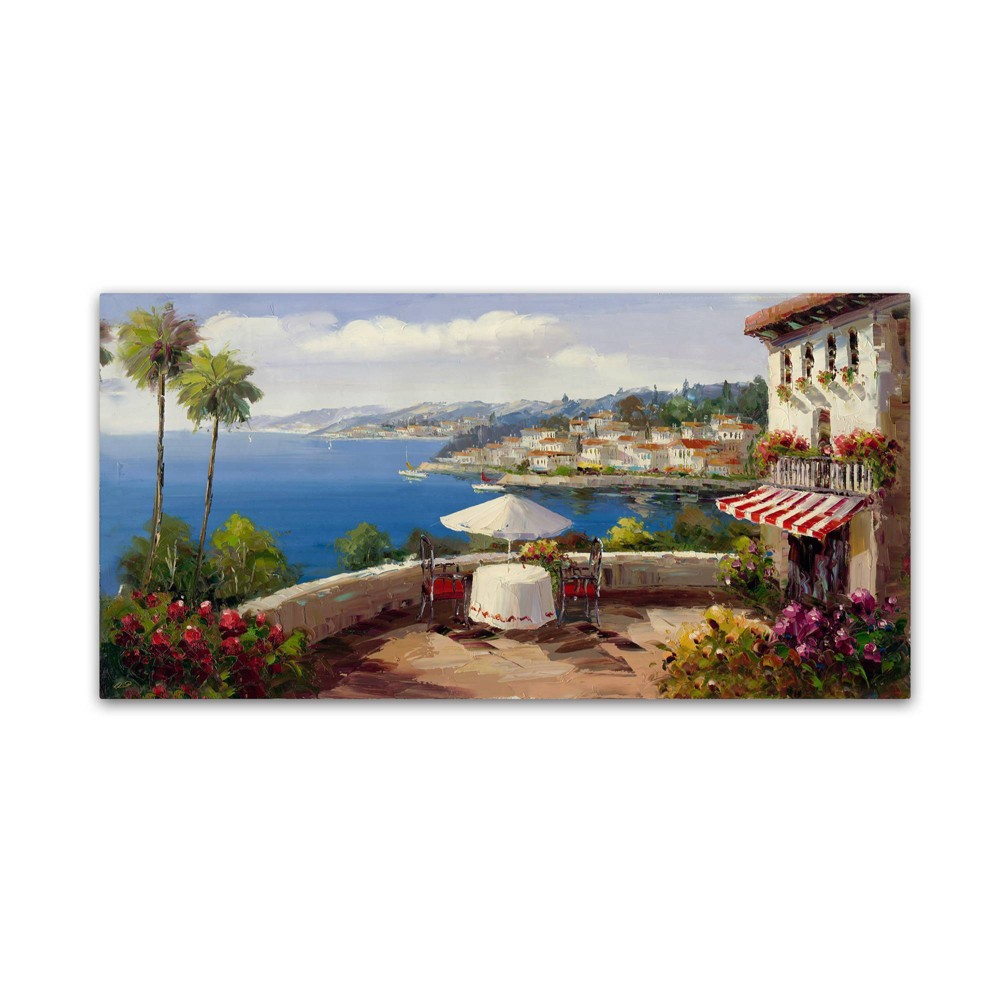 "18"" x 32"" Italian Afternoon by Rio - Trademark Fine Art from Trademark Global"