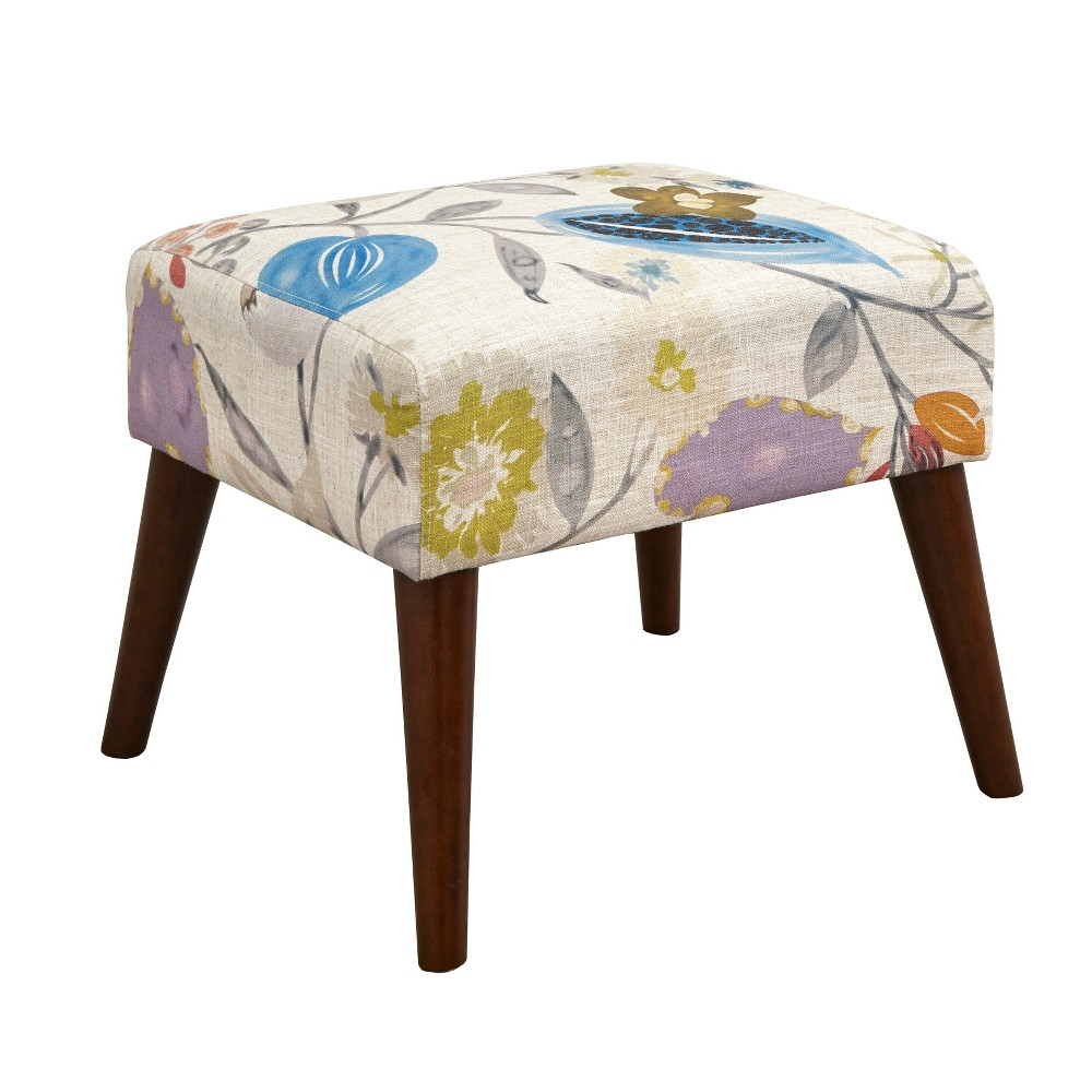 Jane Ottoman Floral Pop - angelo:Home