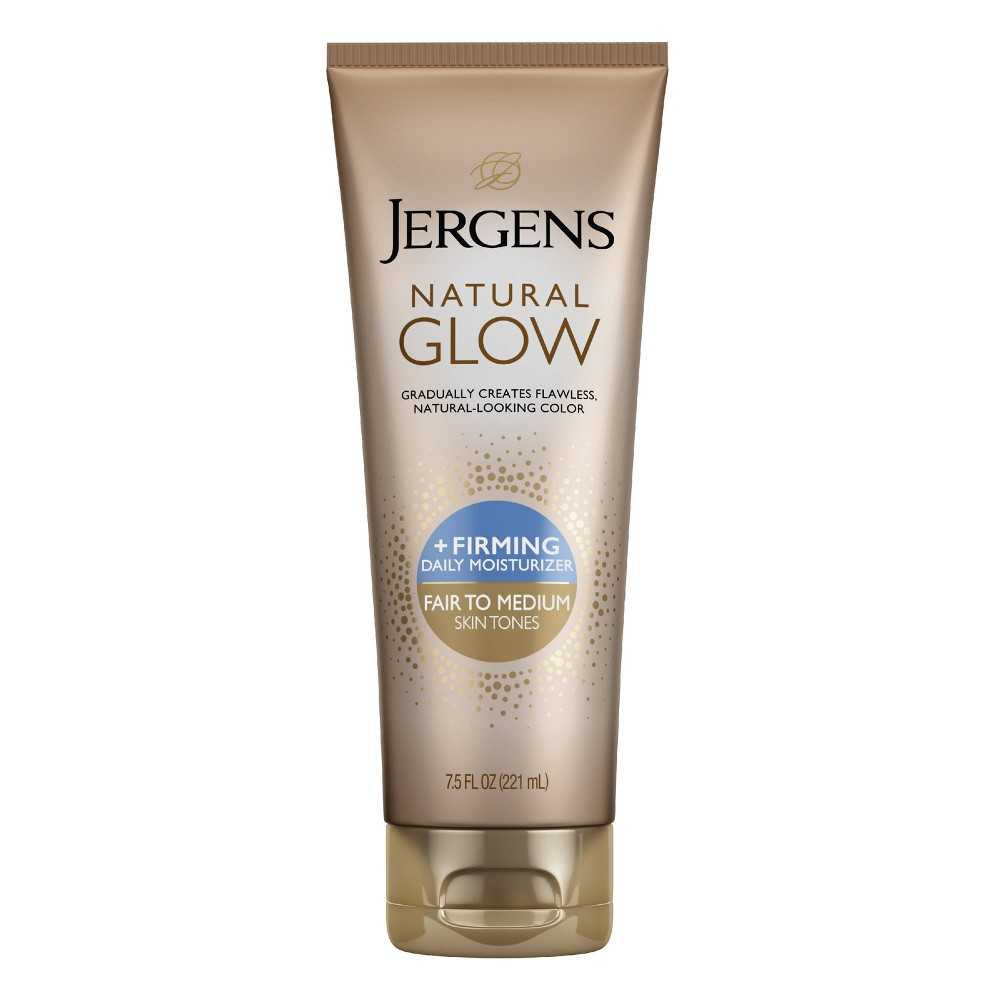 Jergens Natural Glow Firming Moisturizer 7.5 Fl Oz (Fair/Medium)