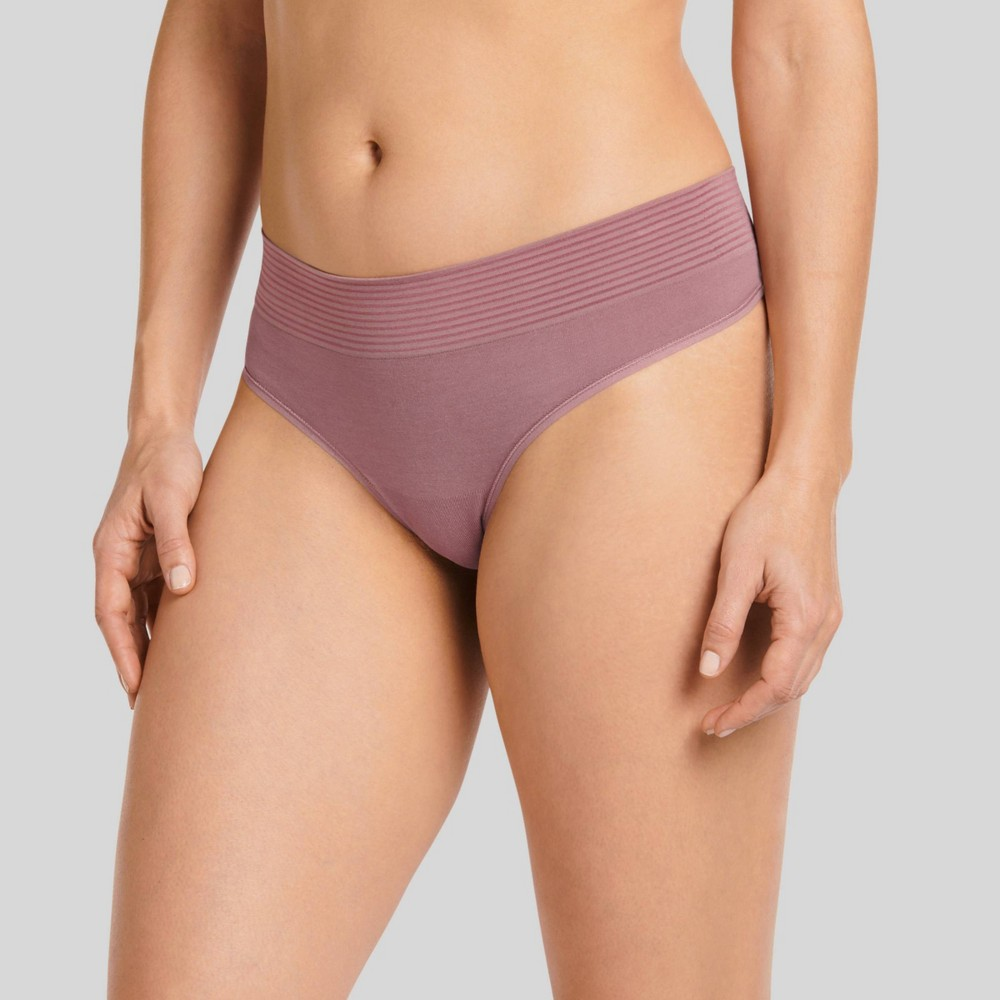 Jockey Generation Women's Natural Beauty Thong - Mauve M, Pink from Jockey Generation
