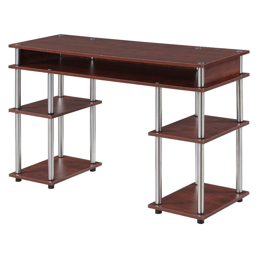 Designs2Go No Tools Student Desk Cherry - Breighton Home from Breighton Home