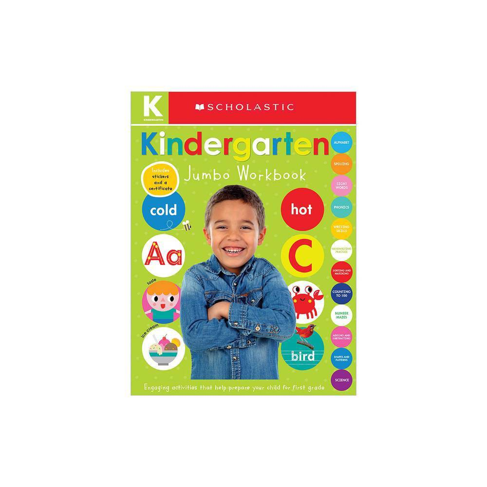 Jumbo Kindergarten - Workbook by Scholastic Inc. & Scholastic Early Learners (Paperback) from Scholastic
