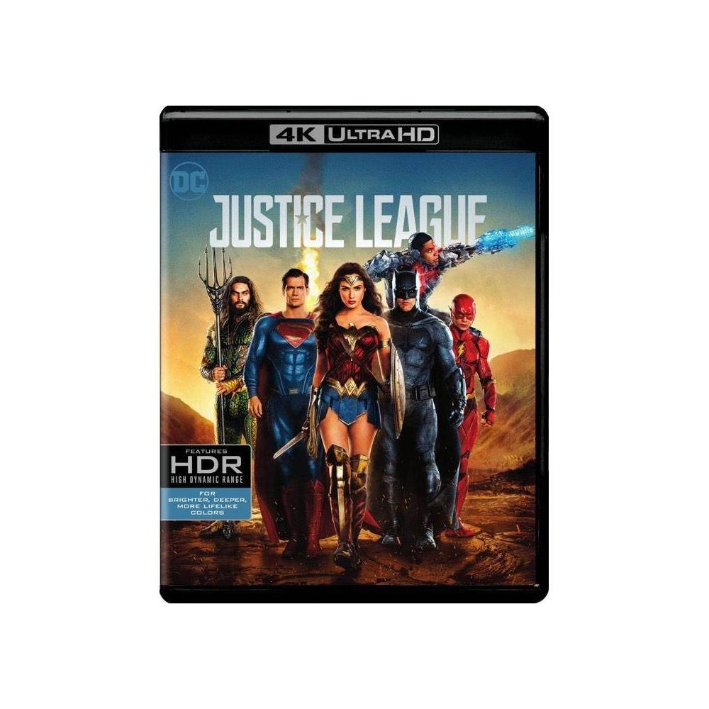 Justice League (4K/UHD), Movies from Warner