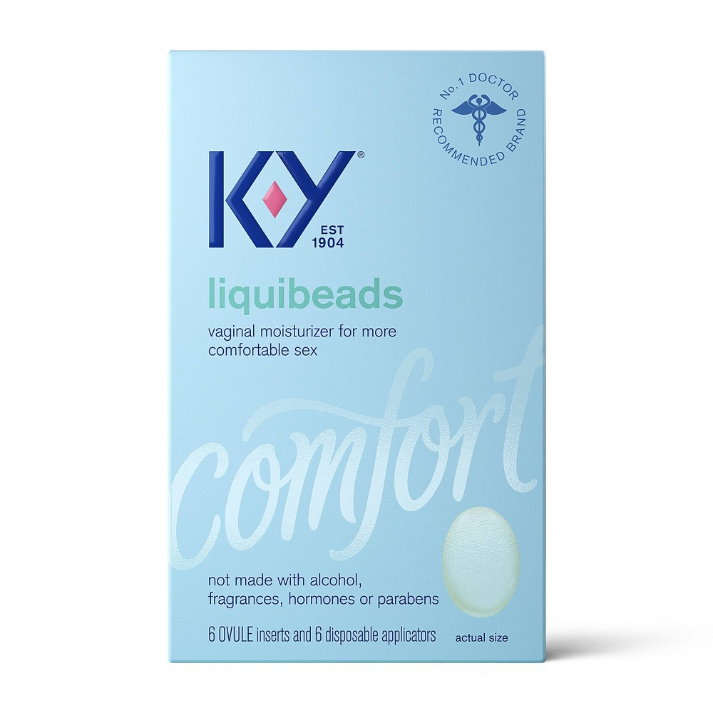 K-Y Liquibeads Vaginal Moisturizer - 6ct from K-Y