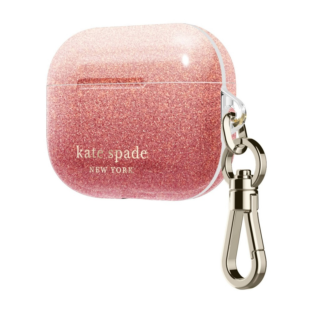Kate Spade New York AirPods Pro Case - Ombre Glitter Sunset Pink from Kate Spade