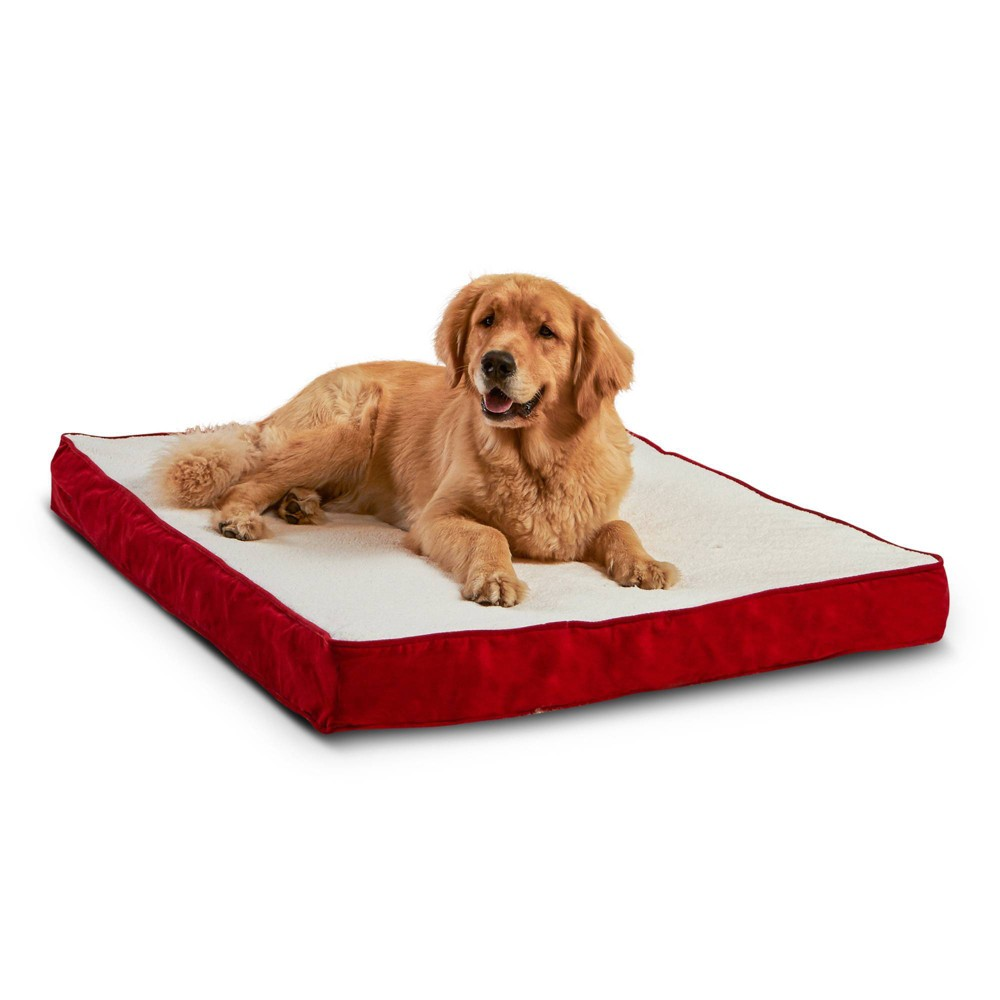 Kensington Garden Oscar Orthopedic Dog Bed - Crimson - L from Kensington Garden