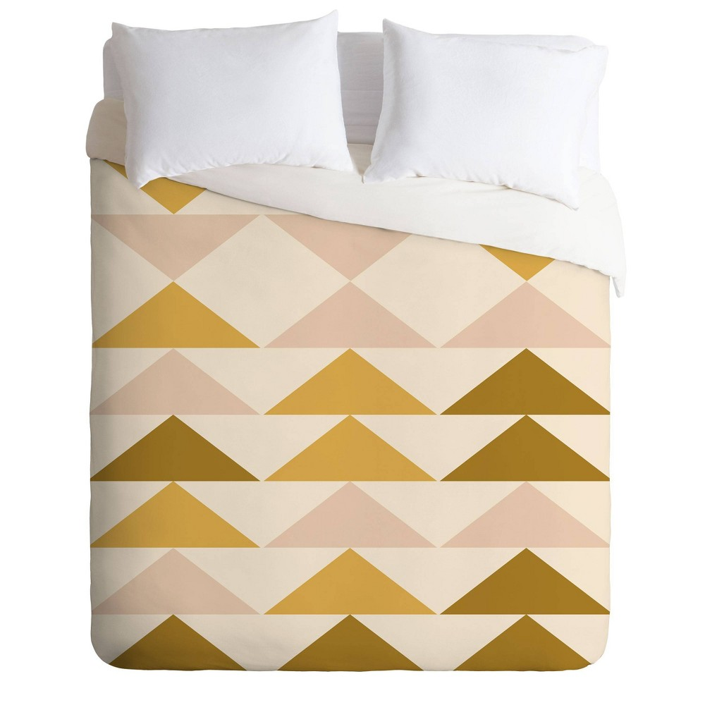 King Urban Wild Studio Festival Comforter Set Yellow - Deny Designs from Deny Designs