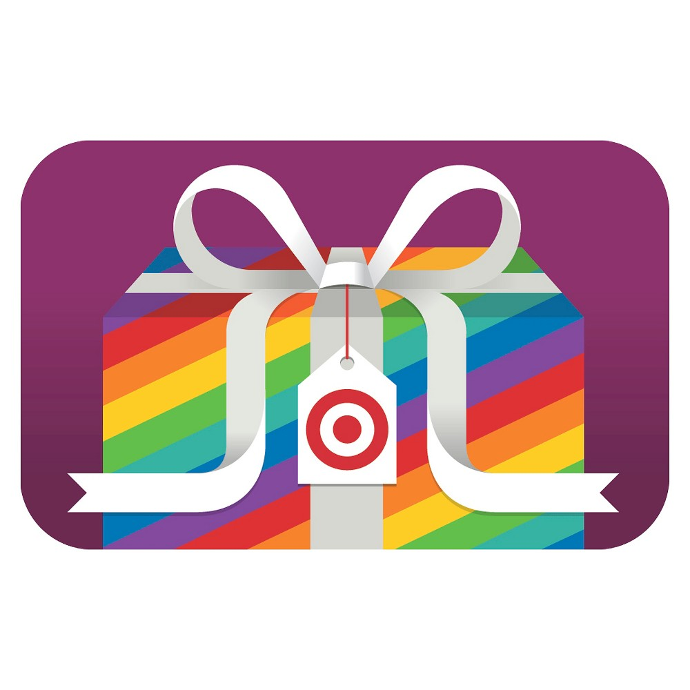 LGBT Rainbow Gift GiftCard - $50 from Target