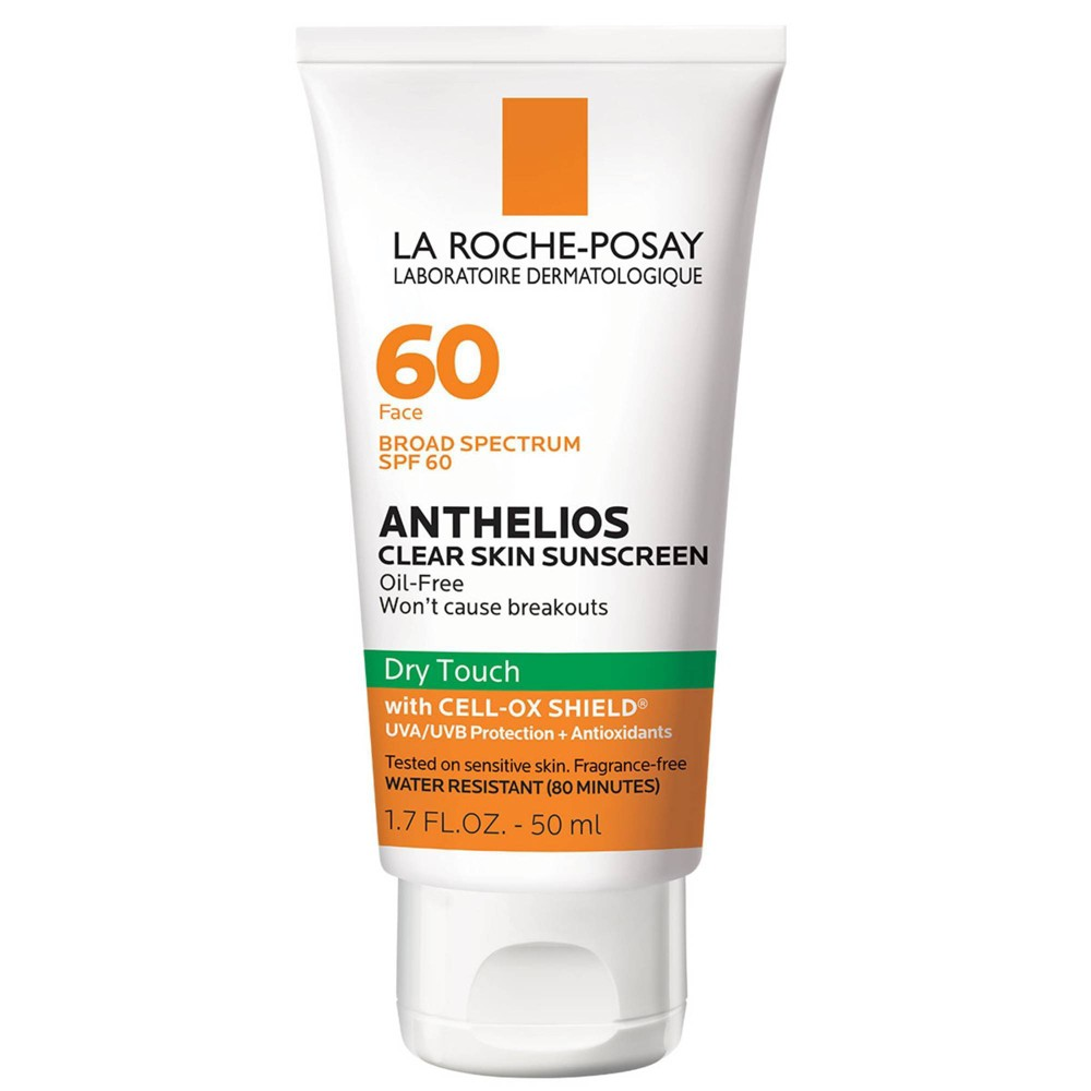 La Roche Posay Anthelios Clear Skin Sunscreen - SPF 60 - 1.7 fl oz from La Roche Posay