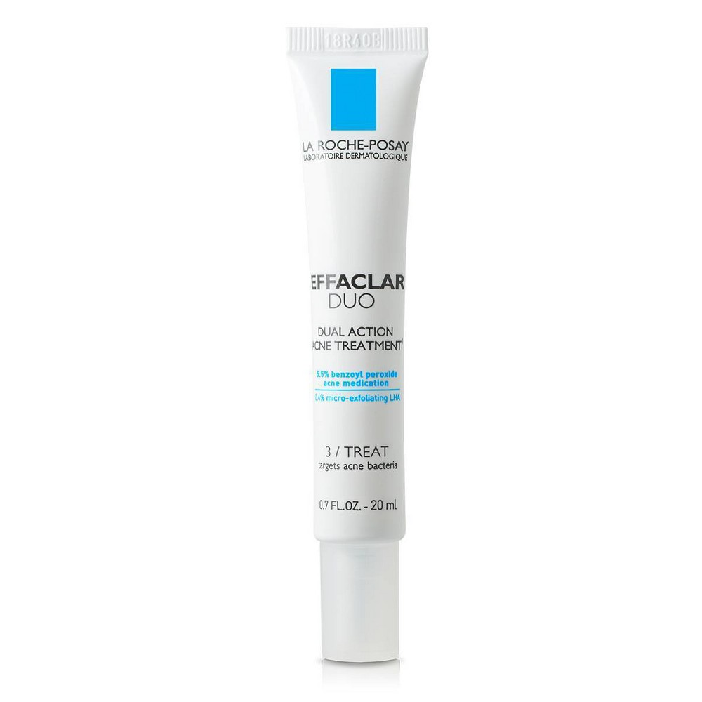 La Roche-Posay Effaclar Duo Dual Action Acne Treatment - 0.7 fl oz from La Roche Posay