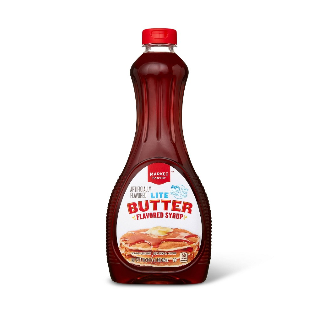 Light Butter Syrup - 24 fl oz - Market Pantry from Market Pantry