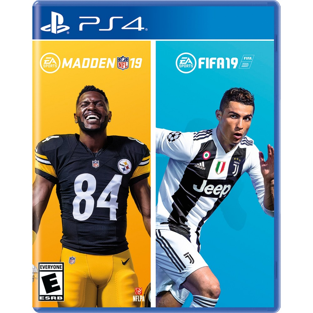 Madden NFL 19 / FIFA 19 Bundle - PlayStation 4 from Electronic Arts