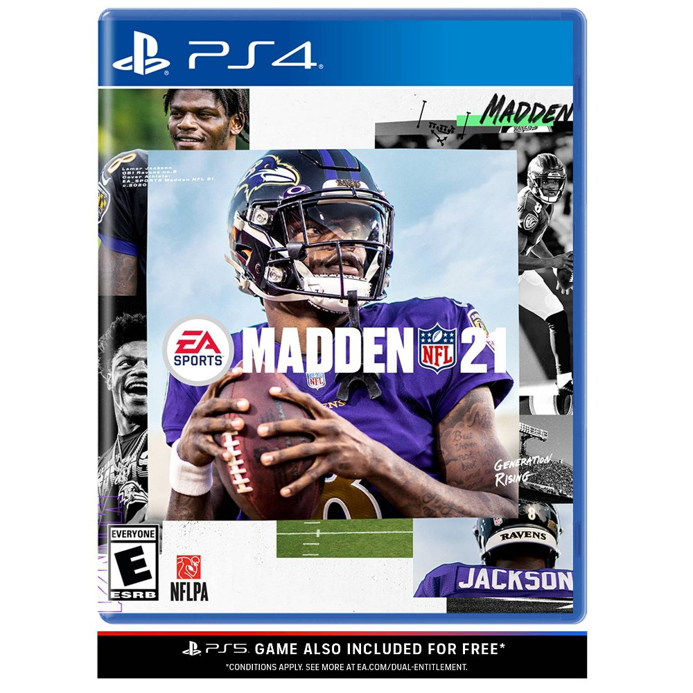 Madden NFL 21 - PlayStation 4/5 from Electronic Arts