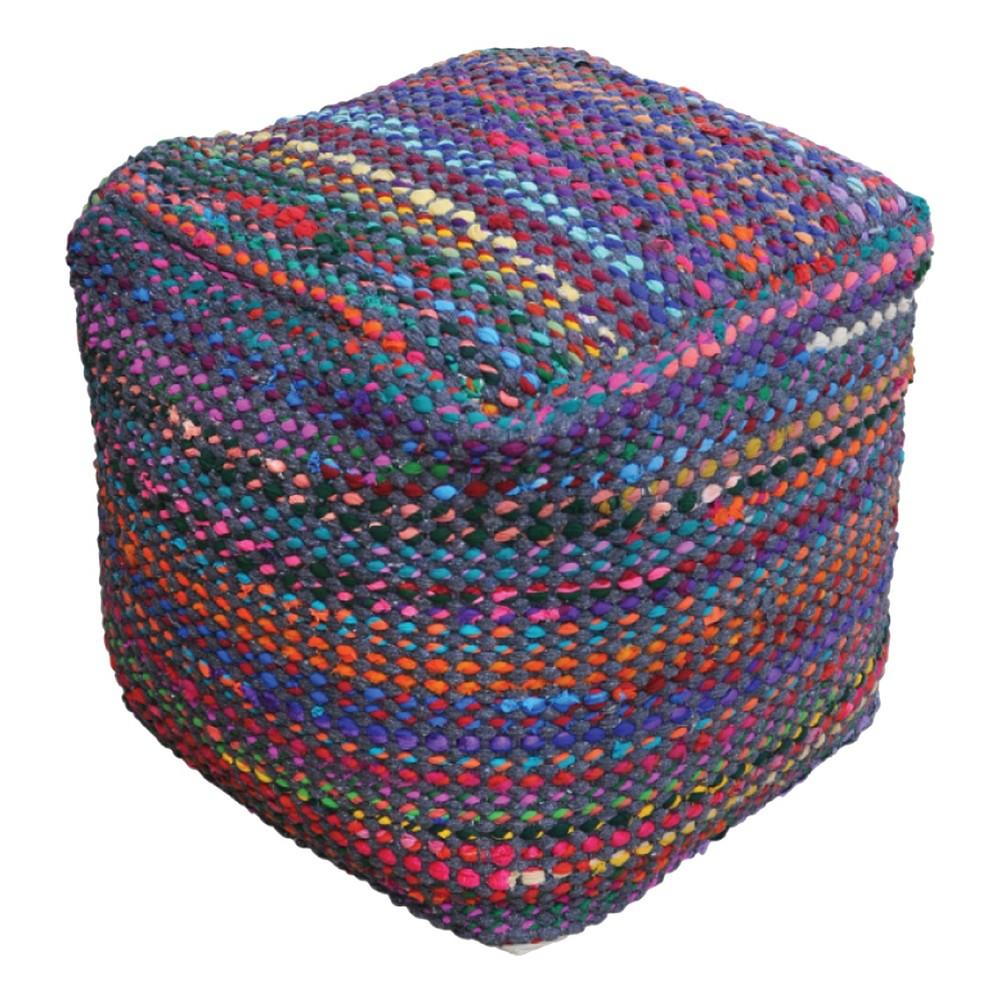 Madrid Pouf Indigo - Christopher Knight Home from Christopher Knight Home