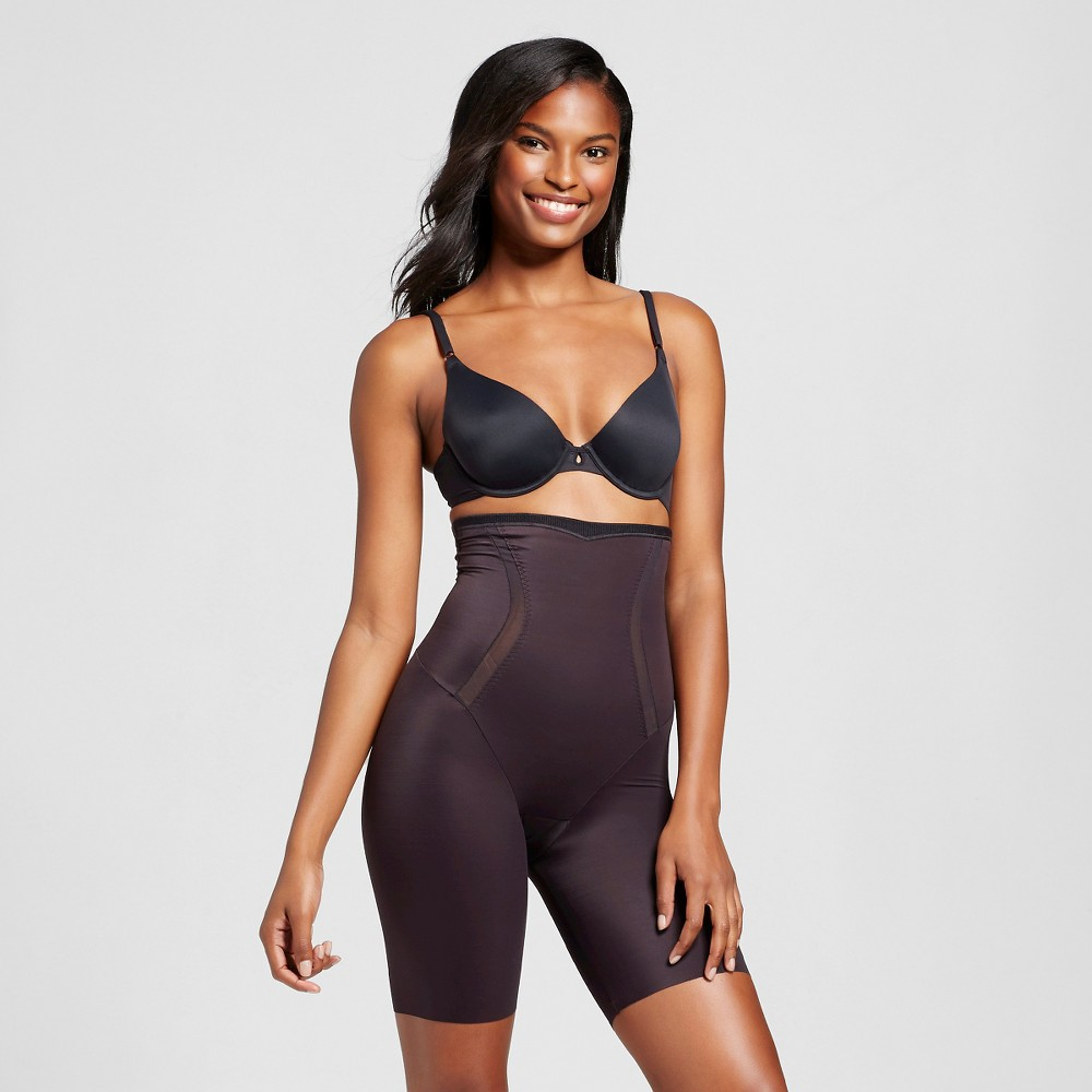 Maidenform Self Expressions Women's Firm Foundations Thigh Slimmer - Black 3XL from Maidenform