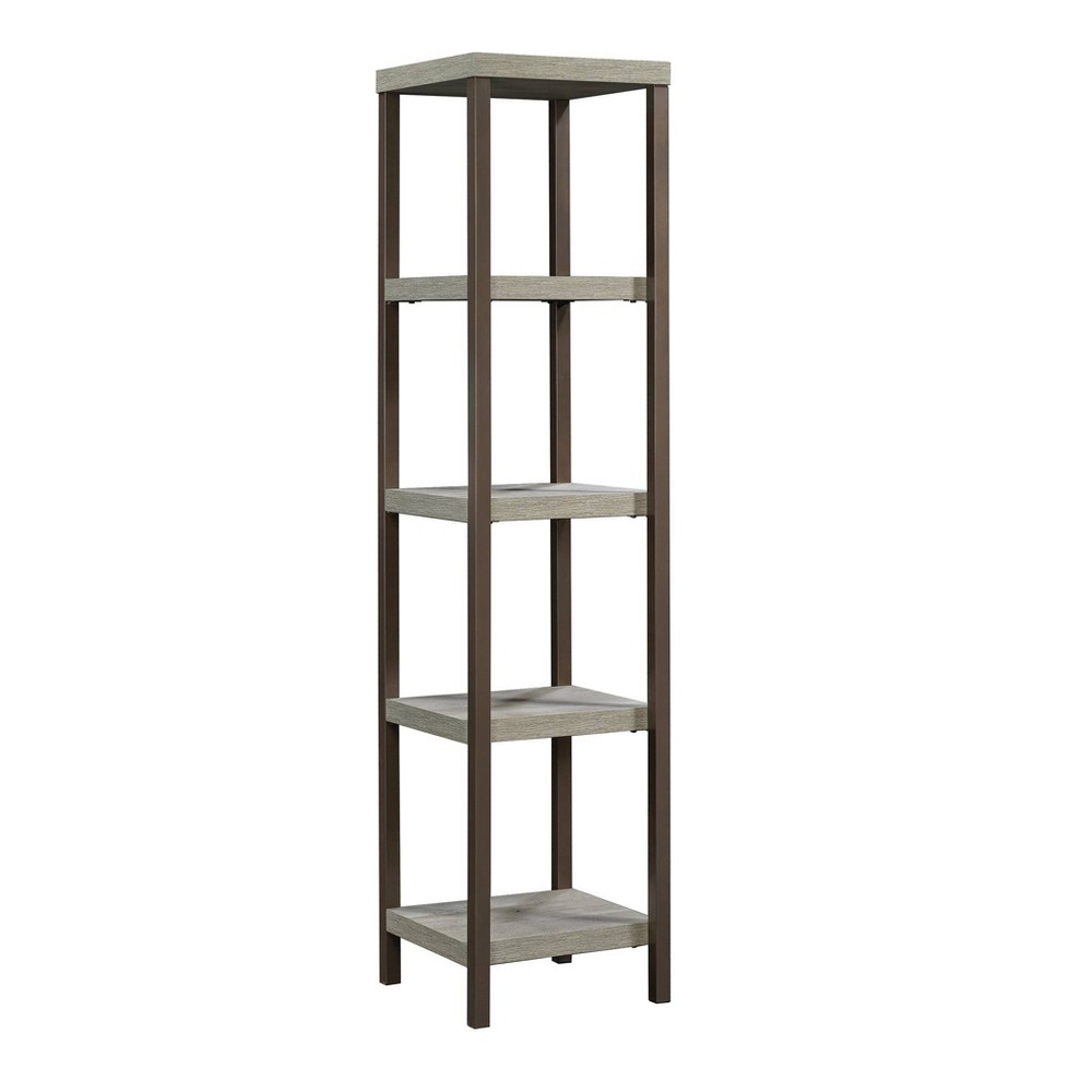 "66"" Manhattan Gate Tower Etagere Mystic Oak - Sauder from Sauder"