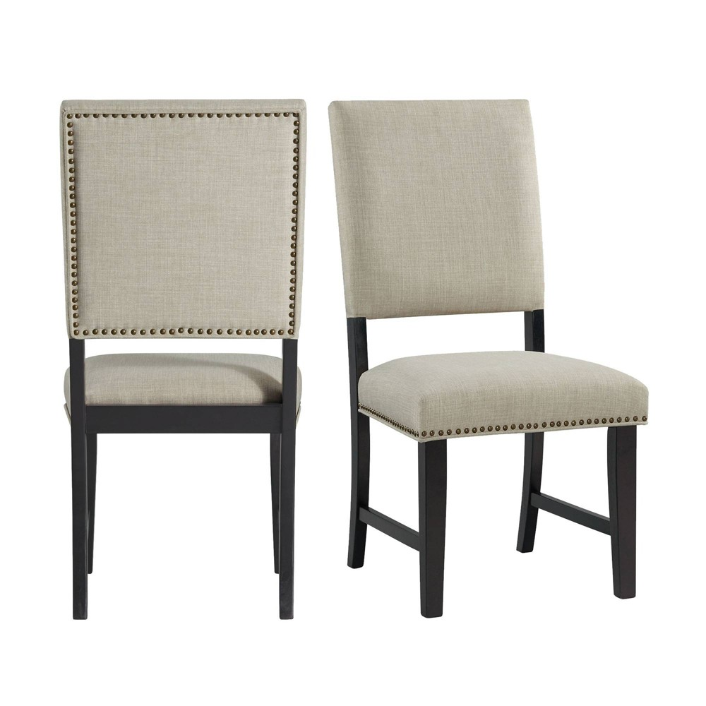 Mara Upholstered Side Chair Set Taupe - Picket House Furnishings from Picket House Furnishings