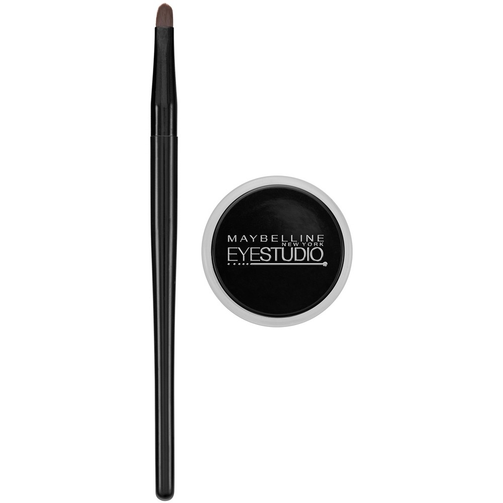Maybelline Eye Studio Lasting Drama Gel Eyeliner - 950 Blackest Black - 0.106oz from Maybelline